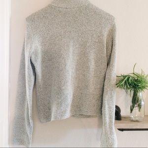 Vintage | grey turtleneck sweater